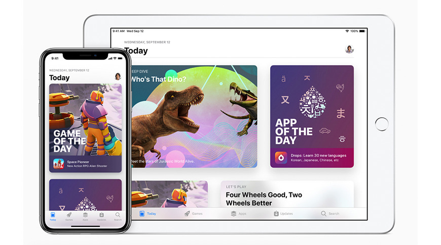 The App Store means developers have access to both iPhone and iPad