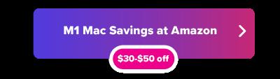 Apple M1 Mac savings button