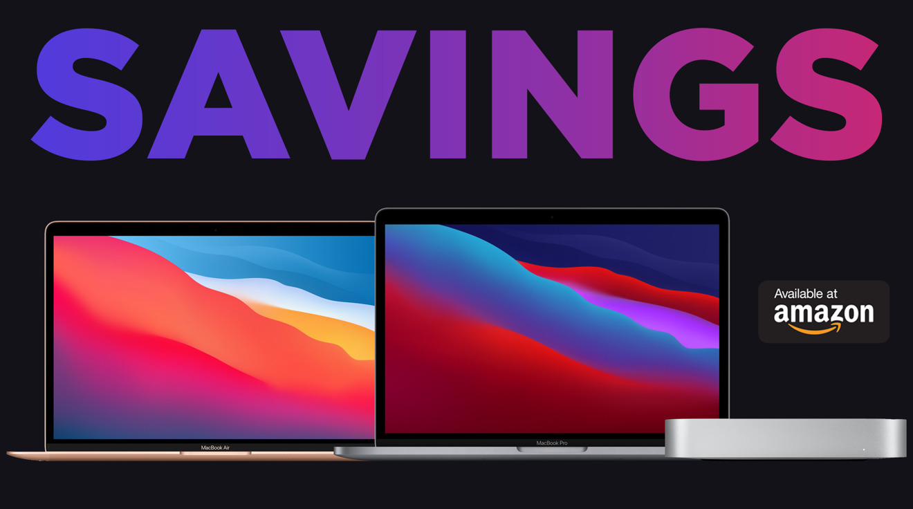 Amazon Issues Early Black Friday Deals On New M1 Macbook Pro 13 Macbook Air Mac Mini Appleinsider