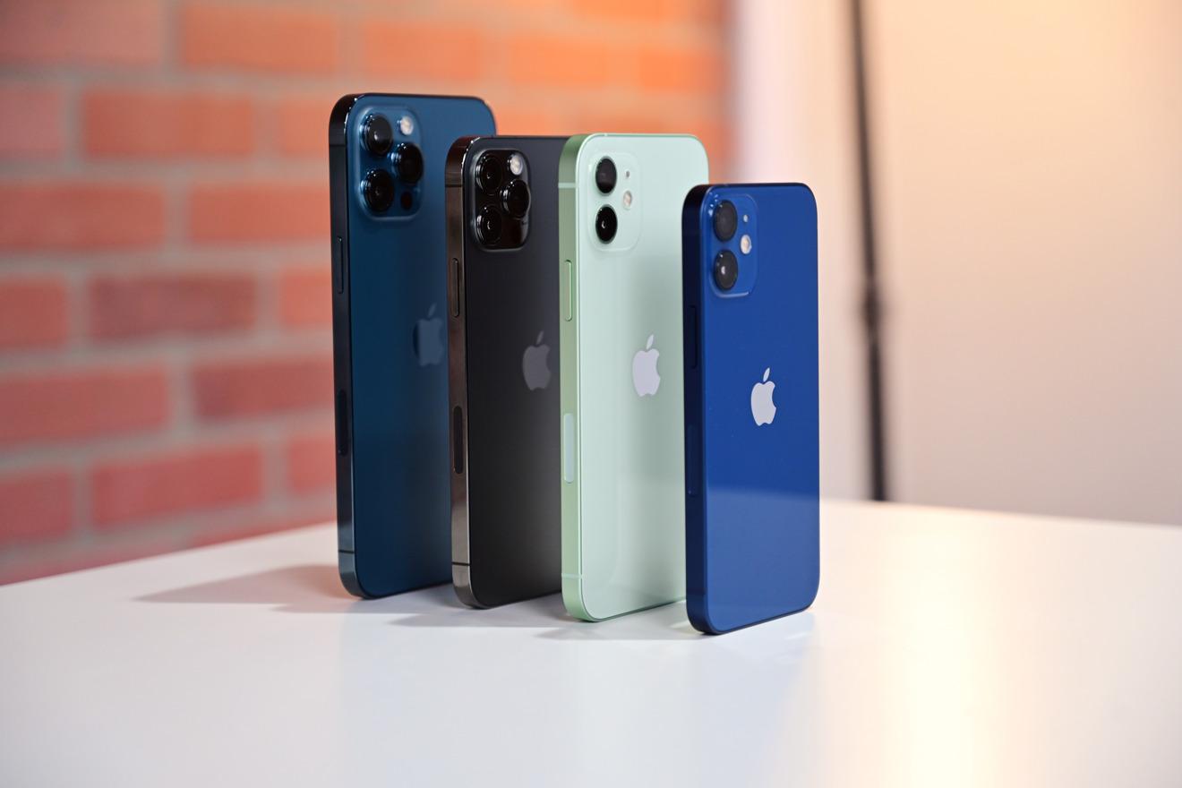 Сравнение размеров и камер всех iPhone 12