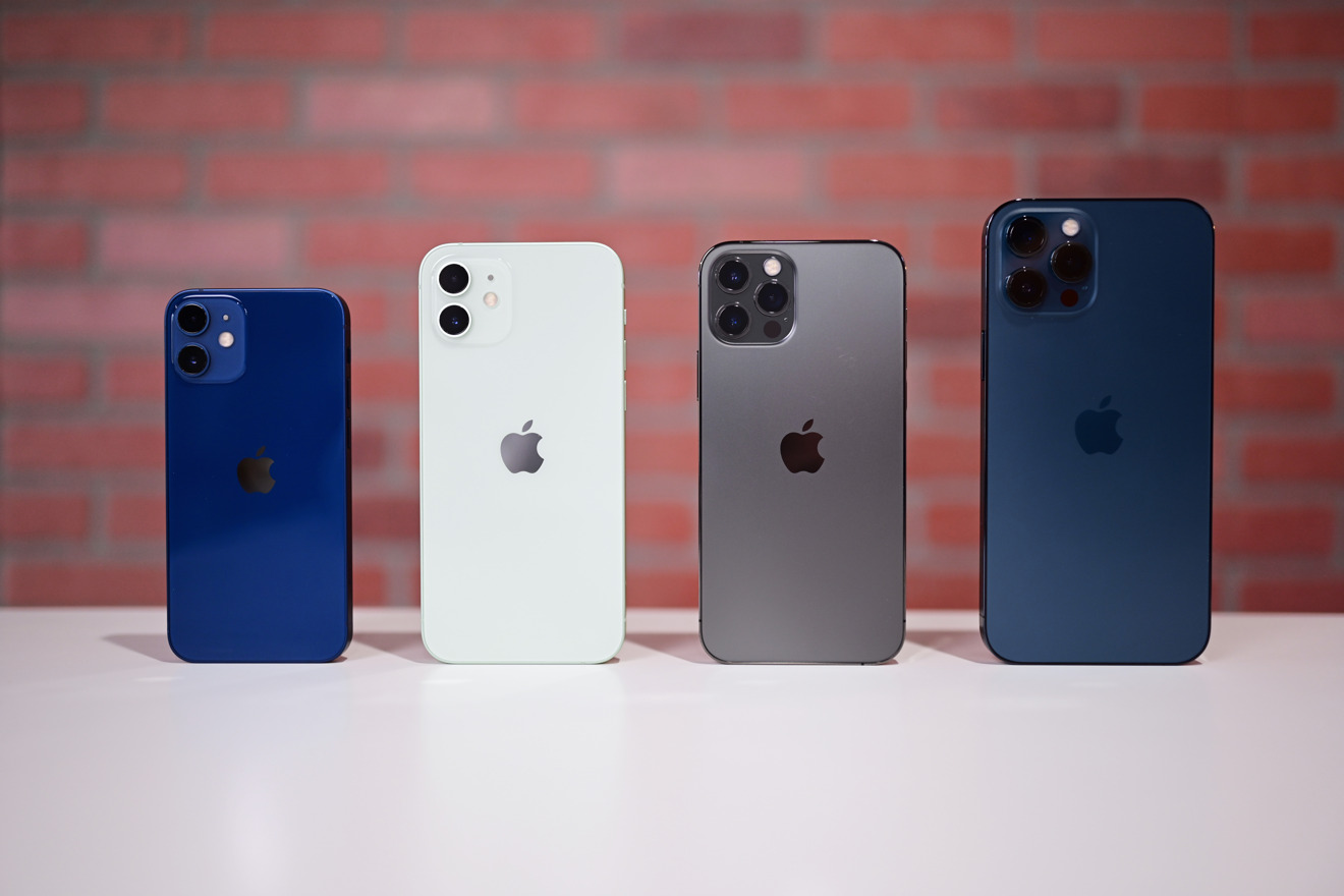 The iPhone 12 Pro models have pulled in the most revenue in the lineup. Courtesy: Apple Insider