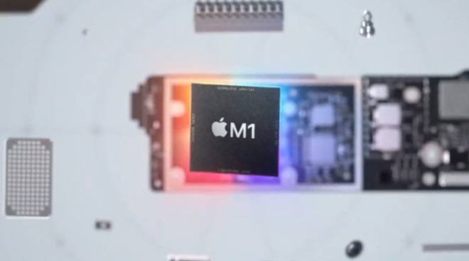 The M1 processor is proving to be better than most Intel chips available