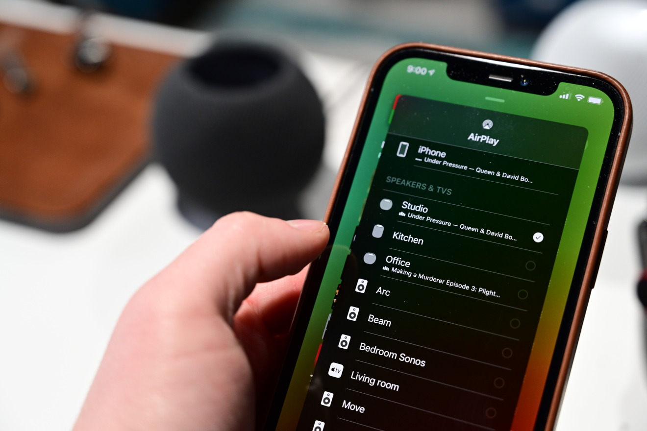 AirPlay 2 with HomePod mini
