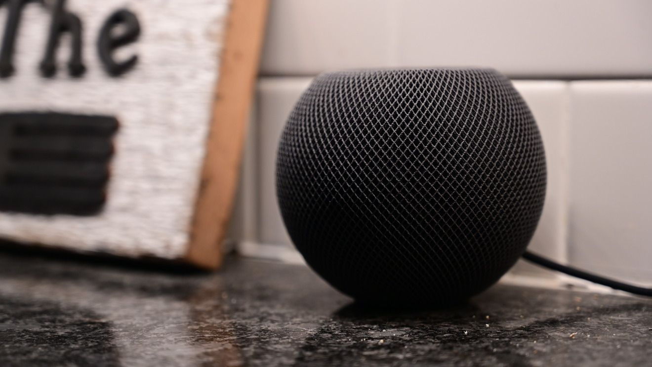 HomePod mini is great in the kitchen