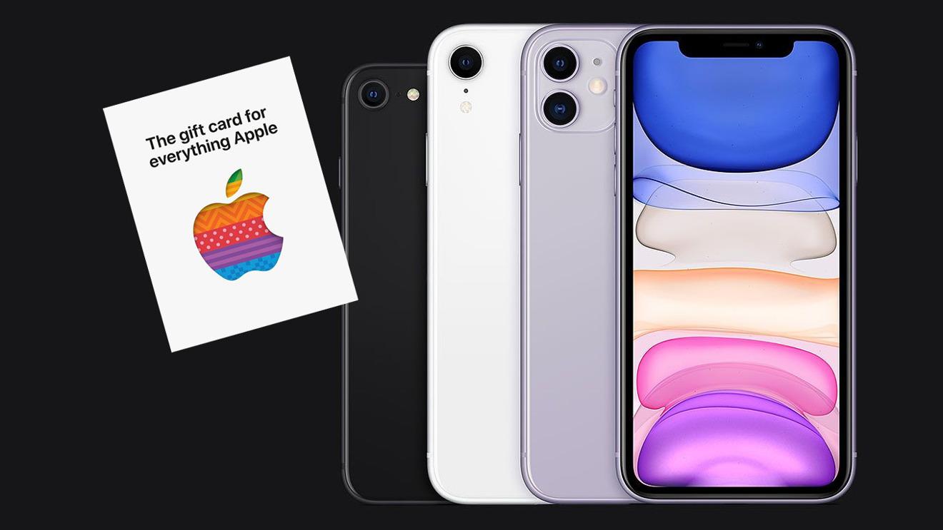 Apple предлагает подарочную карту на 50 долларов для некоторых покупок iPhone