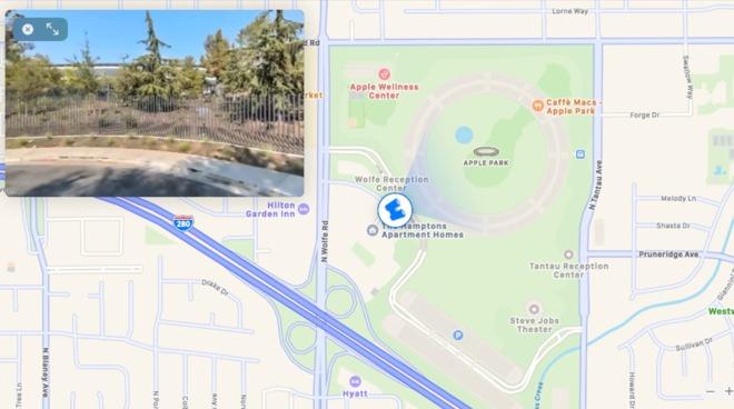 macOS Big Sur Apple Maps