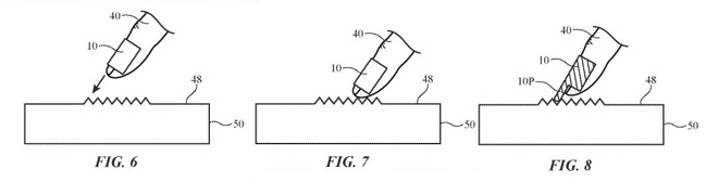 Examples of how a fingertip-mounted sensing device could collect data