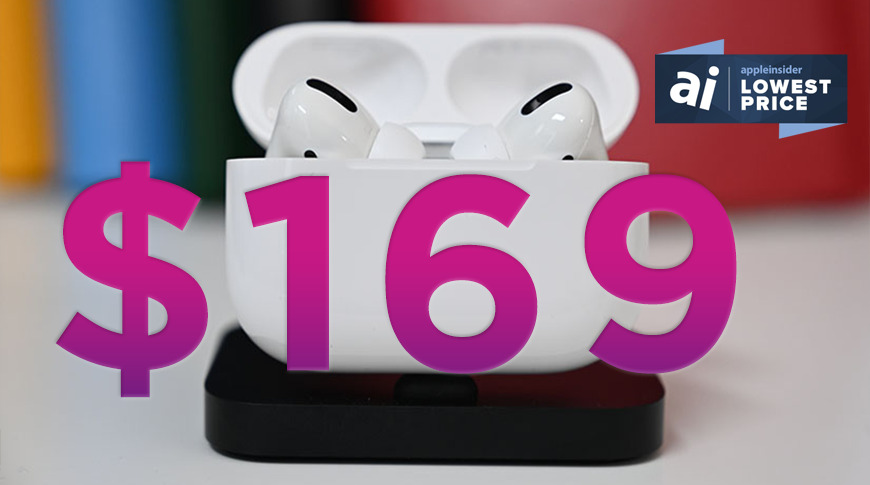 photo of AirPods Pro drop to record low $169 price for Black Friday image