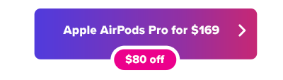 Apple AirPods Pro Black Friday deal