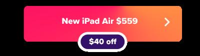 Кнопка продажи Apple iPad Air 4