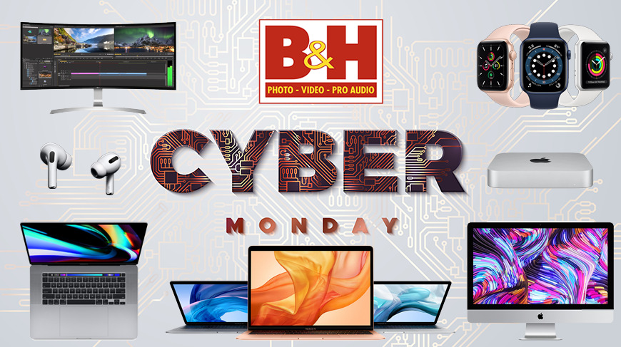photo of B&H's Cyber Monday deals are live: $100 off M1 MacBooks, $569 iPad Air 4, up to $400 off MacBook Pros, $259 Apple Watch,… image