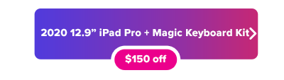 Cyber Monday Apple iPad Pro and Magic Keyboard deal button