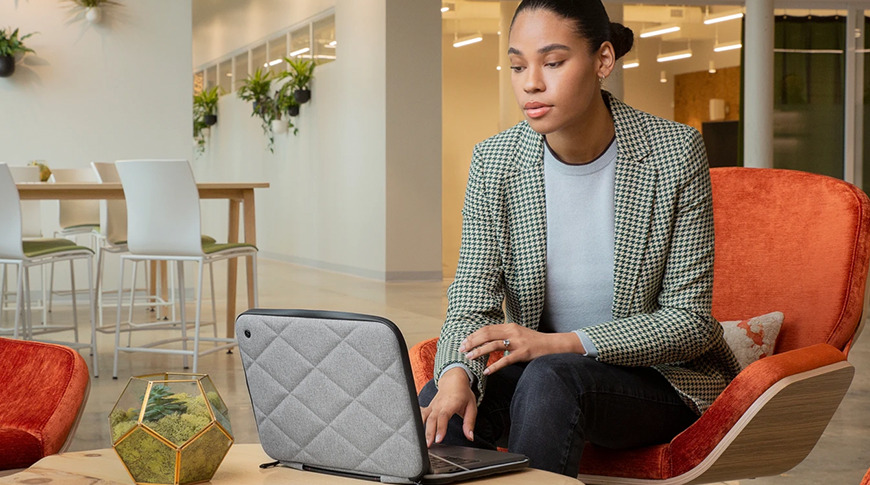 The SuitCase protects your MacBook, even while in use