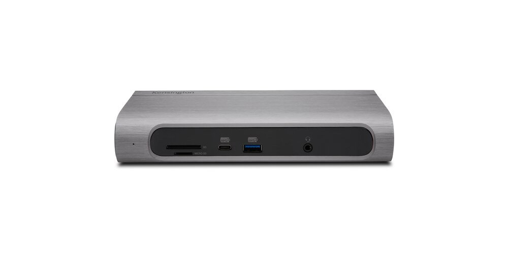 New Kensington Thunderbolt 3 dock has 100W power delivery, dual 4K display support