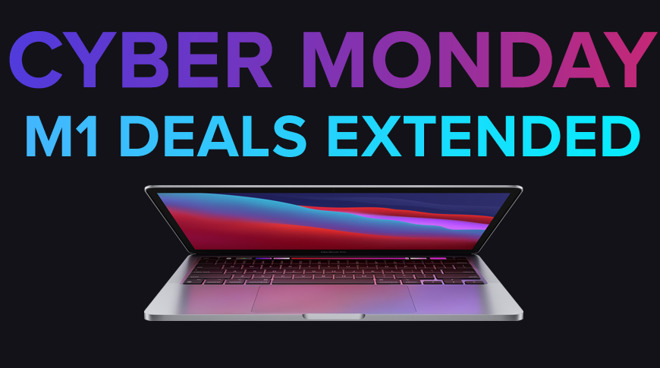 photo of Cyber Monday M1 Mac deals extended: $899 MacBook Air, $639 Mac mini, $1,199 MacBook Pro image