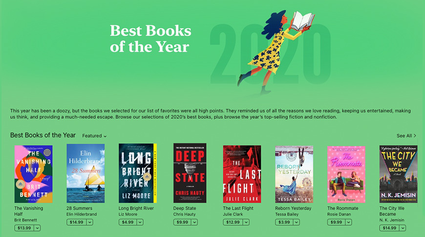 photo of Apple names its 2020 picks for best books, audiobooks, and podcasts image