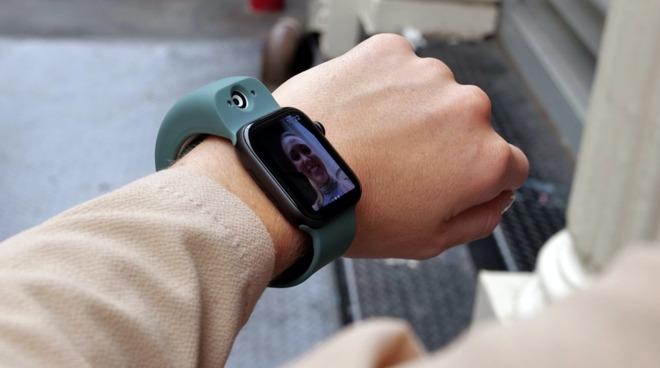 Wristcam on an Apple Watch