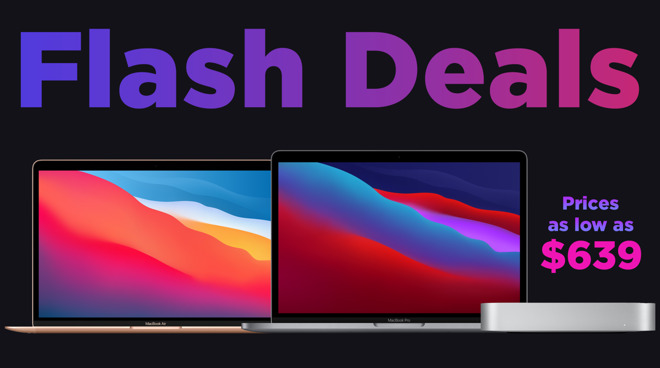 photo of Today only: new price drops hit Apple's M1 MacBook Pro, MacBook Air and Mac mini image