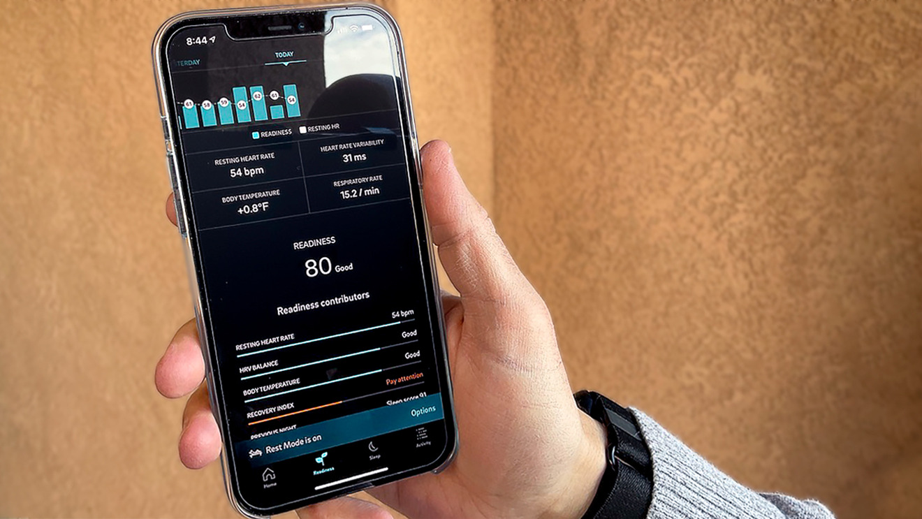 The Oura app