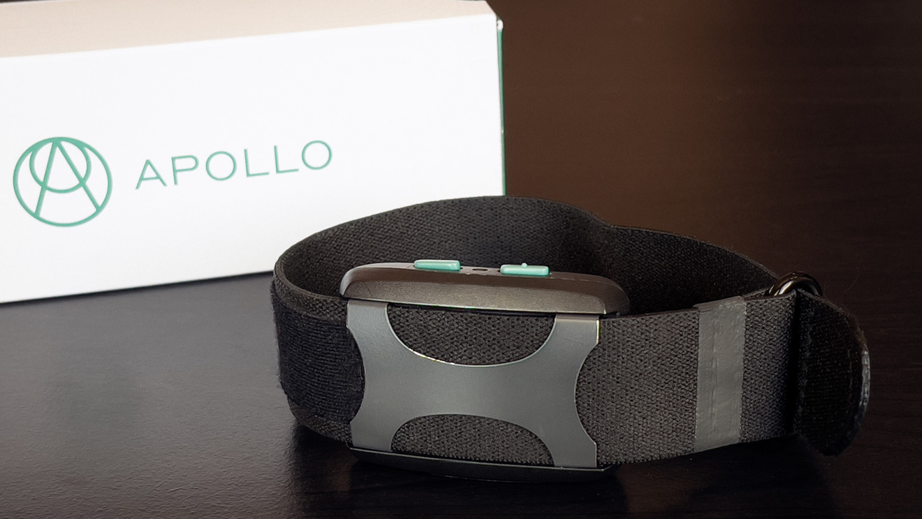 Apollo Neuro uses vibrations to nudge your moods and energy levels
