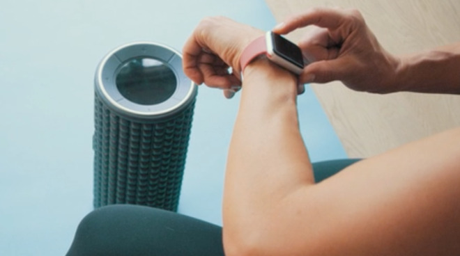 Fitness products have begun appearing in the Apple Store online
