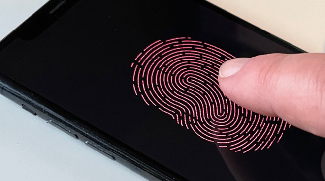 Future Touch ID sensors may be embedded within the display