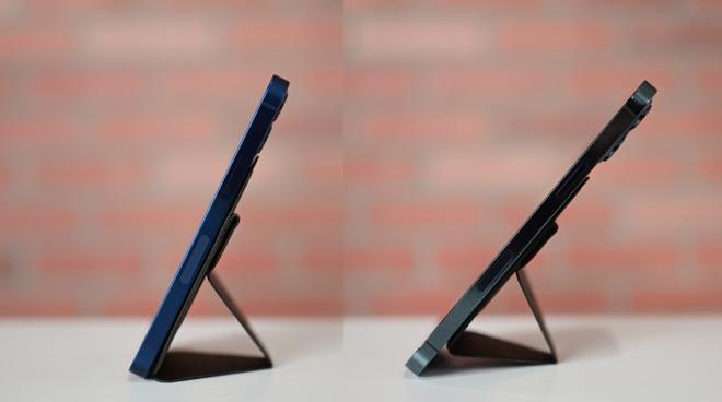 iPhone 12 mini versus iPhone 12 Pro Max with Moft