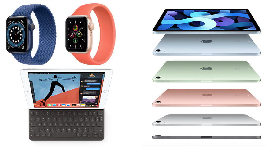 iPads and Apple Watch models Apple launched in an event a few weeks after the report was published.