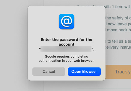 Gmail users using email apps can't get into their accounts