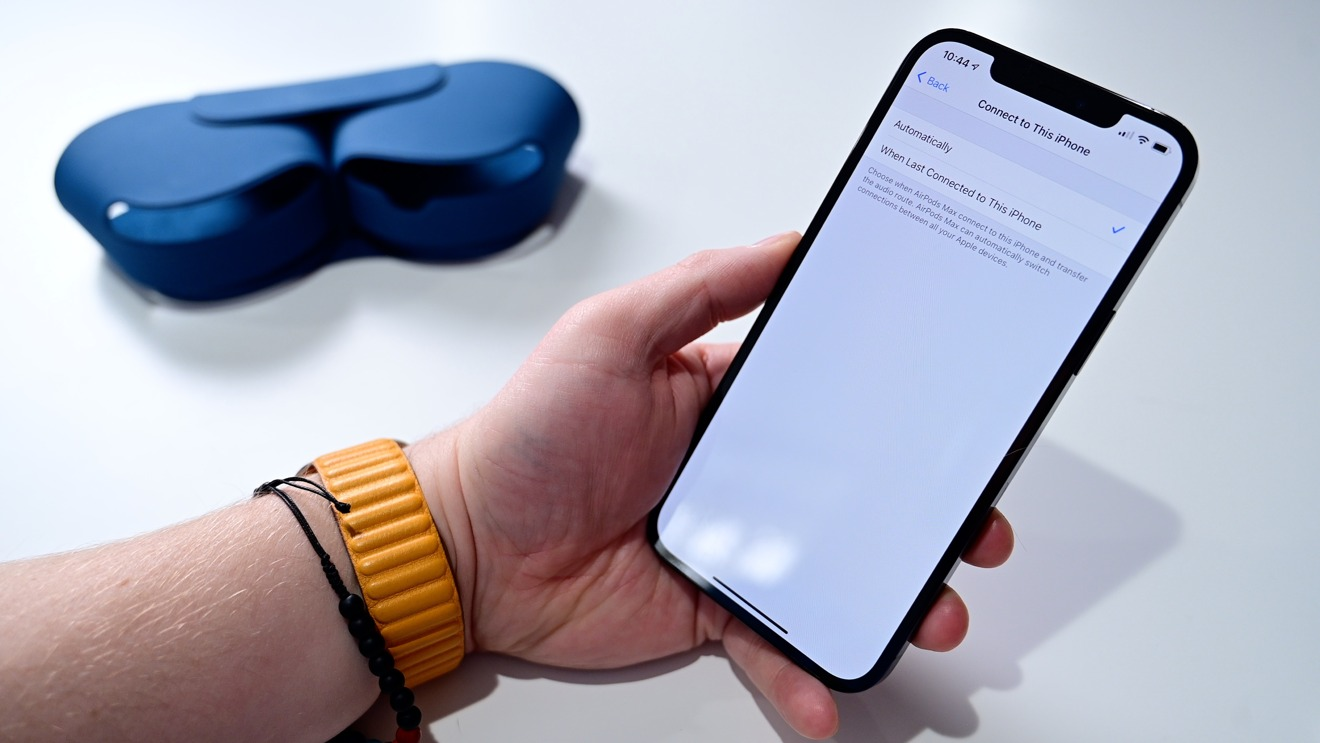 Change how auto switch works on AirPods Max