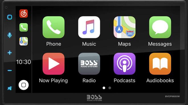 Boss wireless CarPlay multimedia players