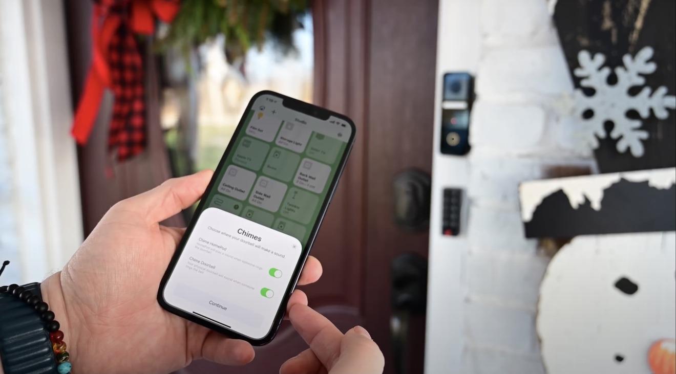 HomeKit по-прежнему фантастичен, а дверные звонки имеют много преимуществ, включая перезвон на HomePod.