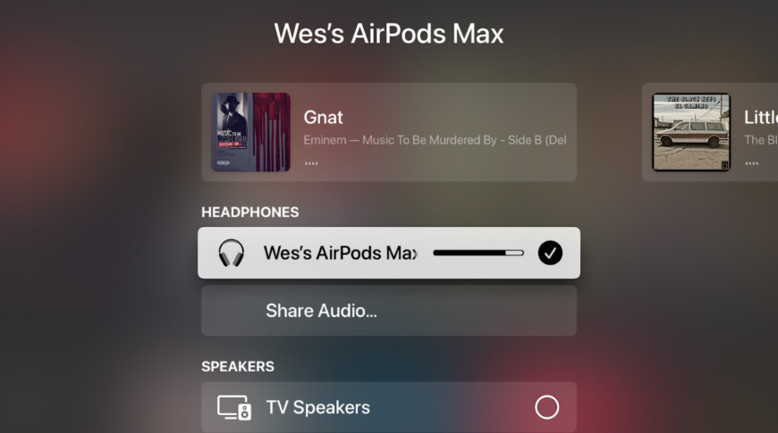 Image of article 'How to connect AirPods Max to the Apple TV'