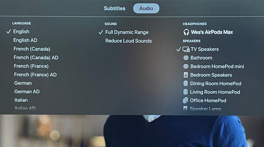 AirPlay from playing media