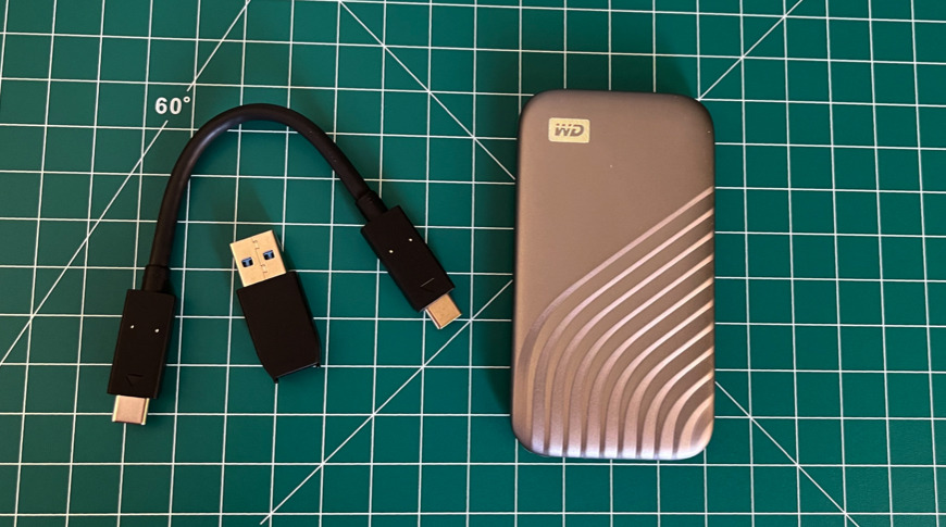 What's included with the WD My Passport SSD