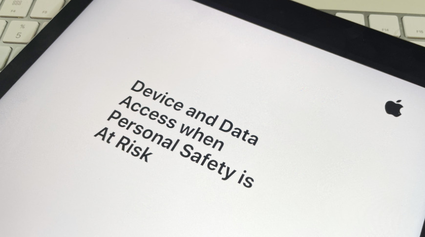 Apple's new document about protecting your device and data