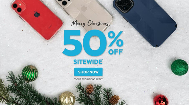 Speck Christmas sale on iPhone cases and iPad protective covers