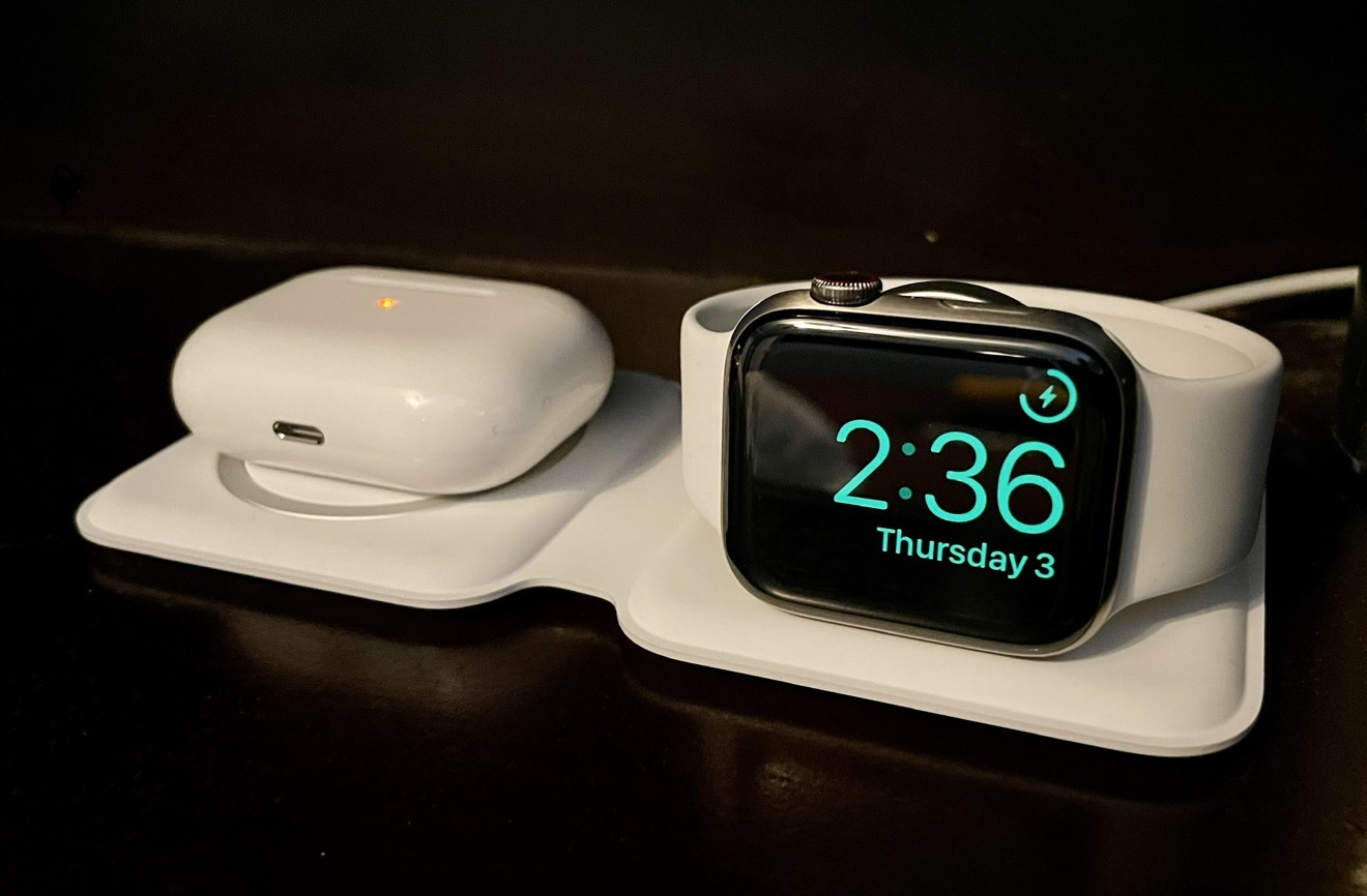 The MagSafe Duo charger used to recharge two devices at the same time.