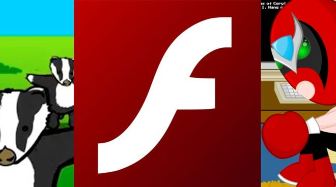 Adobe Flash powered many well-known online animations, including 'Homestar Runner' and 'Badgers Badgers Badgers'