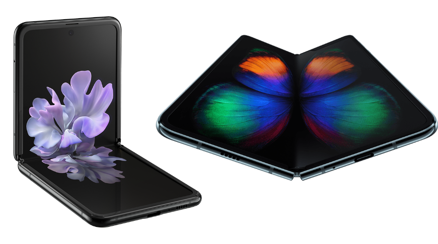 Samsung Galaxy Flip and Samsung Galaxy Fold offer a peek into Apple's folding future