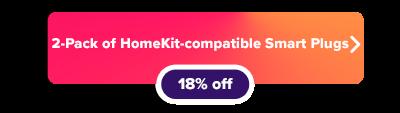 meross Apple HomeKit compatible Smart Plugs sale button