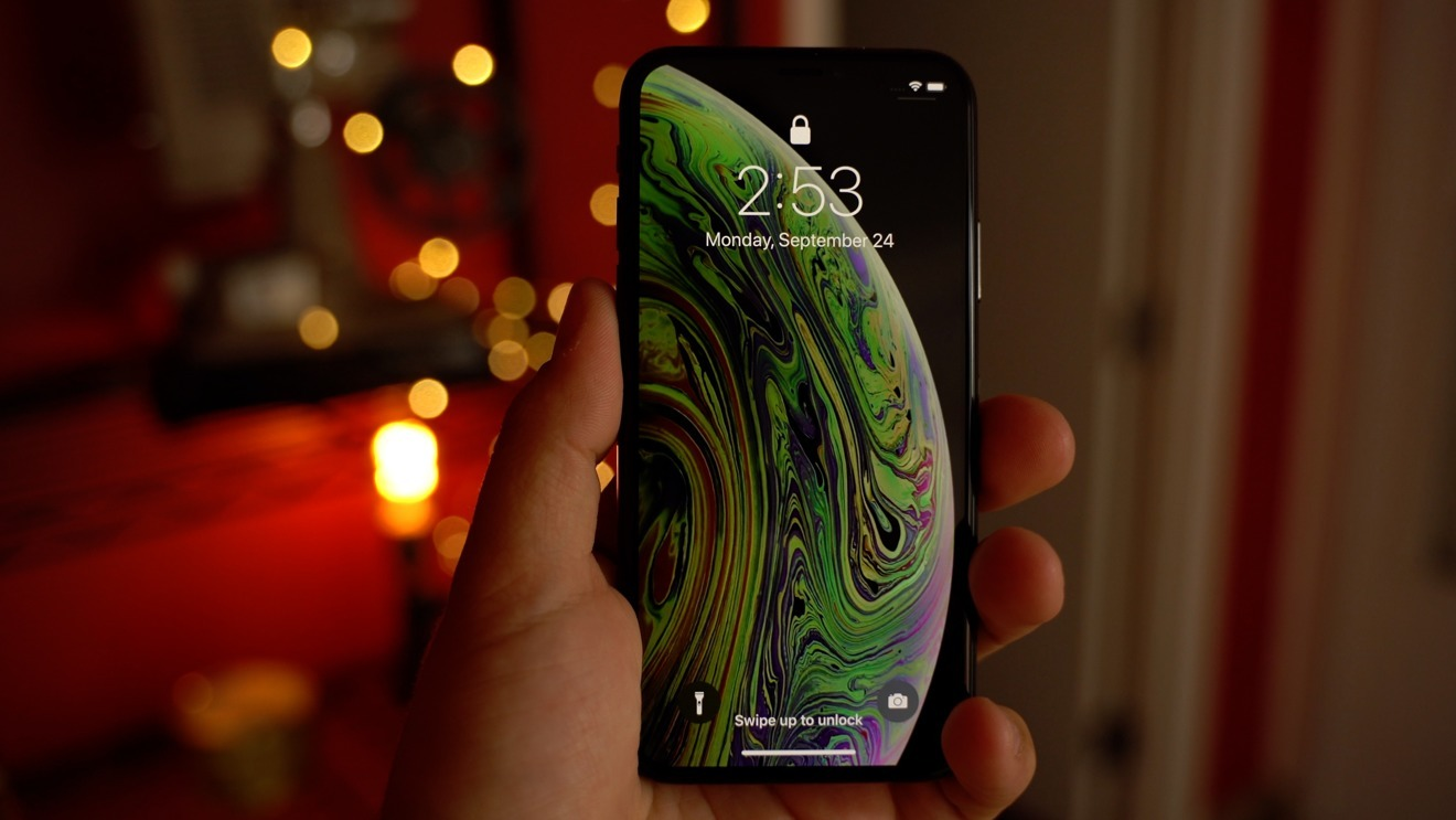 The iPhone XS has a 5.8-inch display