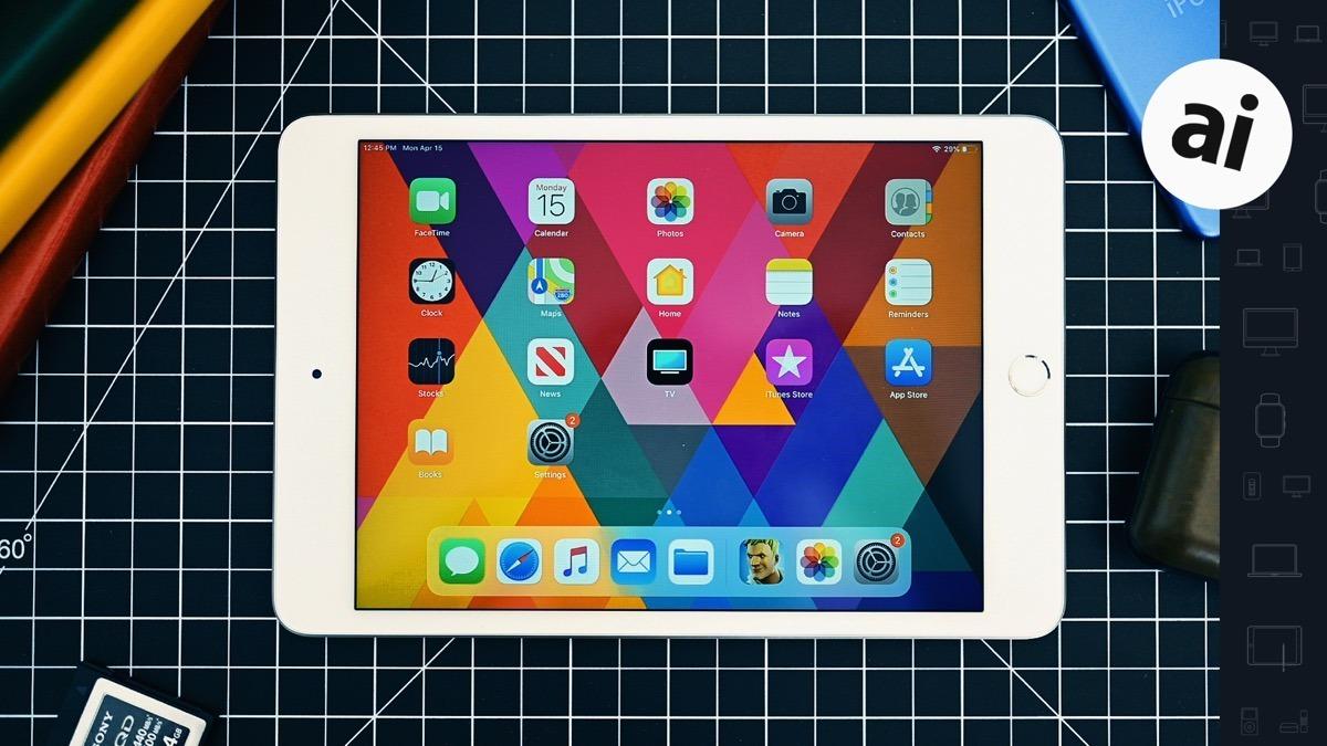 The iPad mini 5 has a 7.9-inch Retina Display