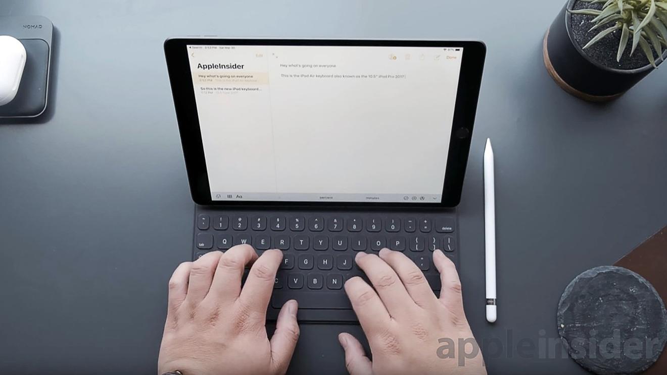 The ninth-generation iPad may borrow from the iPad Air 3's design