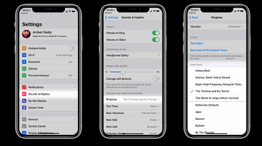 Как изменить мелодию звонка на вашем iPhone