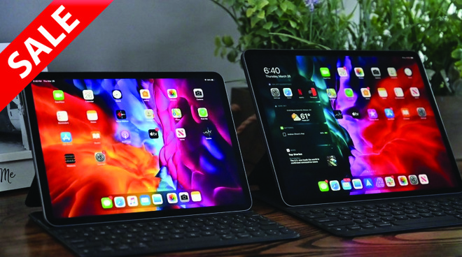 Apple iPad Pro 2020 deals with sale tag