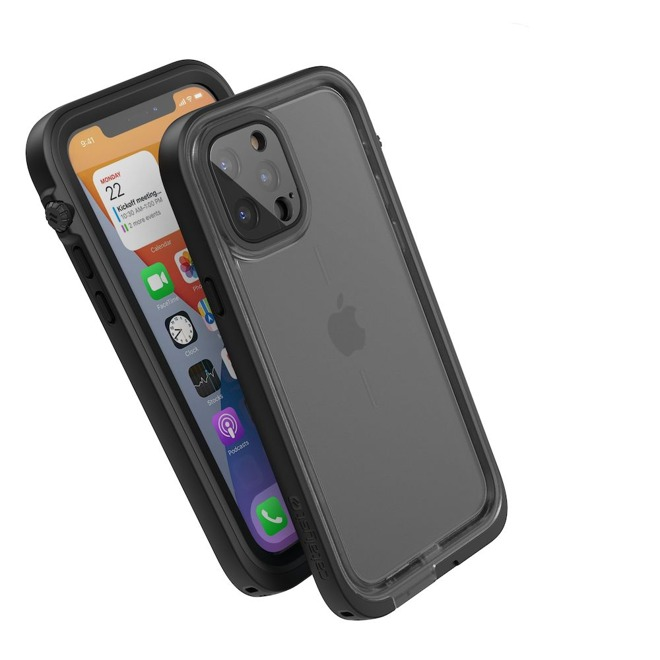 The Total Protection case provides waterproofing up to 33 feet, making it suitable for snorkeling.