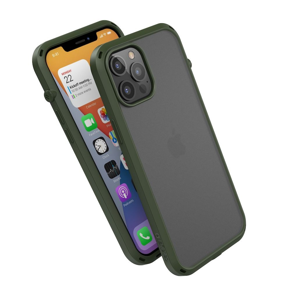 Catalyst is also releasing the sleek Influence case in Army Green and Pacific Blue.