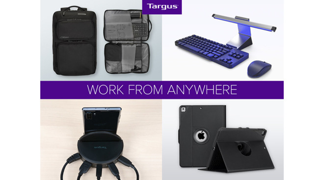 Targus announces new Work from Anywhere line, includes docking stations and iPad cases