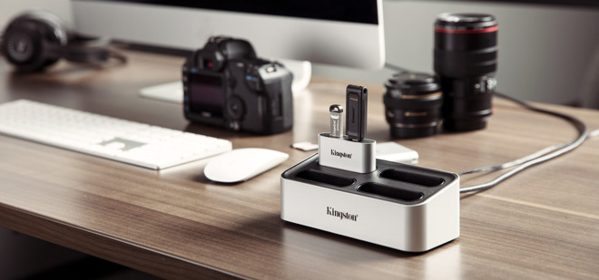 The Workflow Station is aimed at photographers, videographers, and other content creators. Credit: Kingston